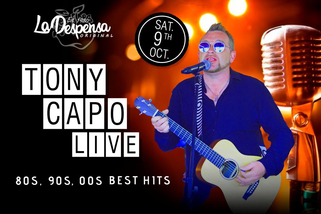 Tony Capo Live